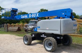 Genie S60X 4X4 Telescopic Boomlift Refurbished