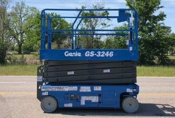 Genie 3246 scissorlift refurbished - Warranty