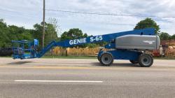 GENIE S65 Diesel boom lift 4X4 Diesel - Refurbished Warranty
