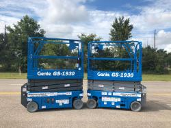 Genie 1930 electric scissorlift Refurbished - Warranty