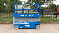 Genie 2646 electric scisorlift Refurbished - Warranty