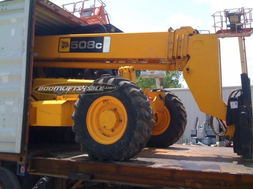 used-cat-forklifts-container