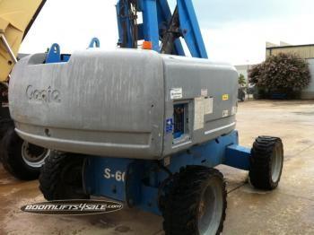 Genie S-60 S-65 boom lift 4X4 Diesel