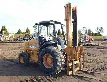 CASE Rough Terrain Forklift
