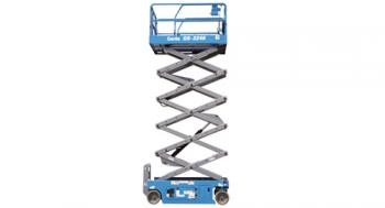 GENIE GS-2046, GS-2646, GS-3246 wide deck scissor lift