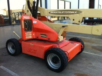 JLG E450AJ electric manlift