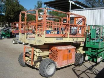 JLG 260MRT Rough Terrain Scissorlift