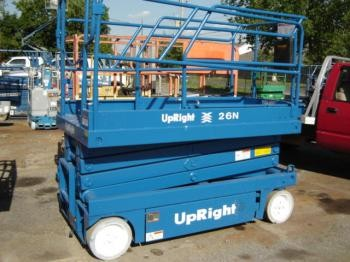 Refurbished Upright X26N Scissor Lifts
