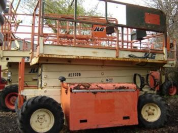 JLG 26MRT Rough Terrain Scissor Lifts