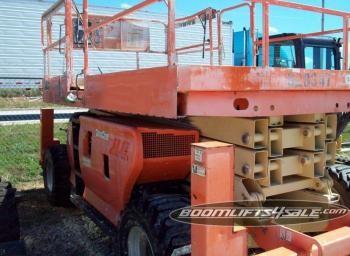 JLG 3394 rough terrain scissorlift