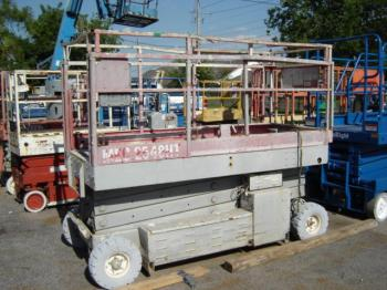MEC 2548 Electric Scissor Lift for Sale | Boomlifts4sale Upright X N Wiring Diagram Model on