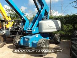 Genie S60 Duel Fuel Man Lifts