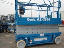 Genie 2646 electric Scissor Lifts *REFURBISHED